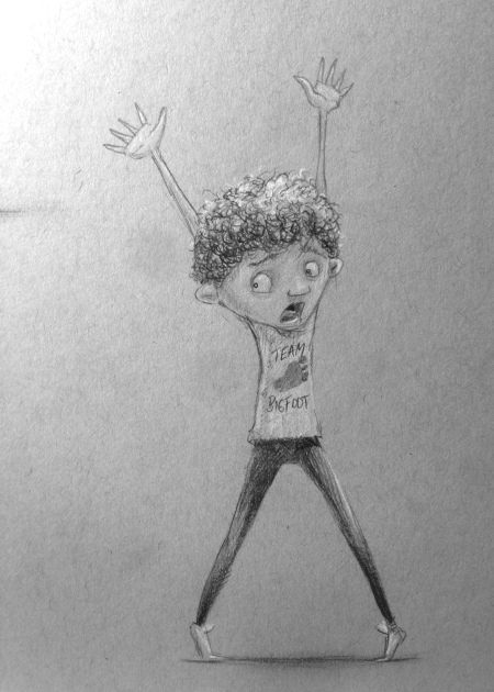 The energy of this kid seemed to be working.  Curly hair became a must.
