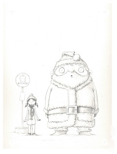 My-Neighbor-Santa-Claus---Drawing