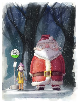My-Neighbor-Santa-Claus---Final-Painting
