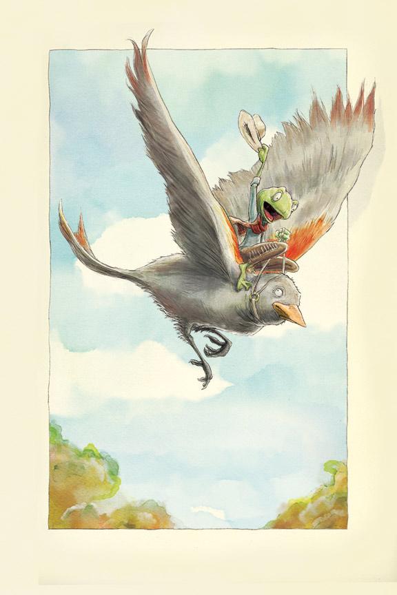 cowboy-bird-painting